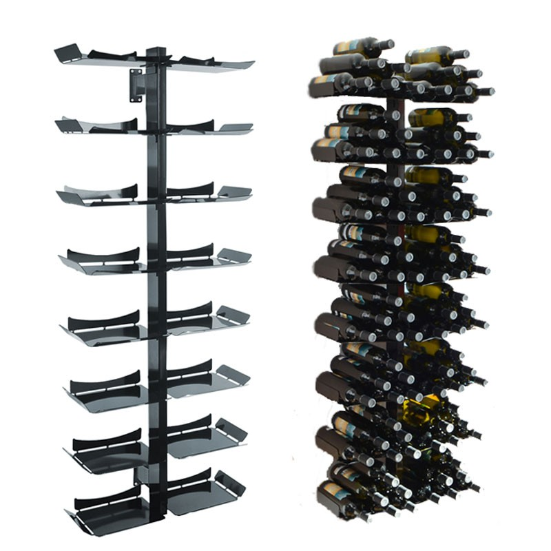 radius wine tree weinregal wand gross f r 96 weinflaschen ebay. Black Bedroom Furniture Sets. Home Design Ideas