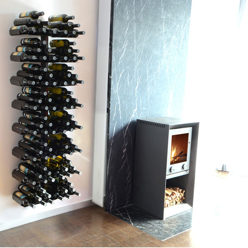 radius wine tree weinregal wand gross f r 96 weinflaschen. Black Bedroom Furniture Sets. Home Design Ideas