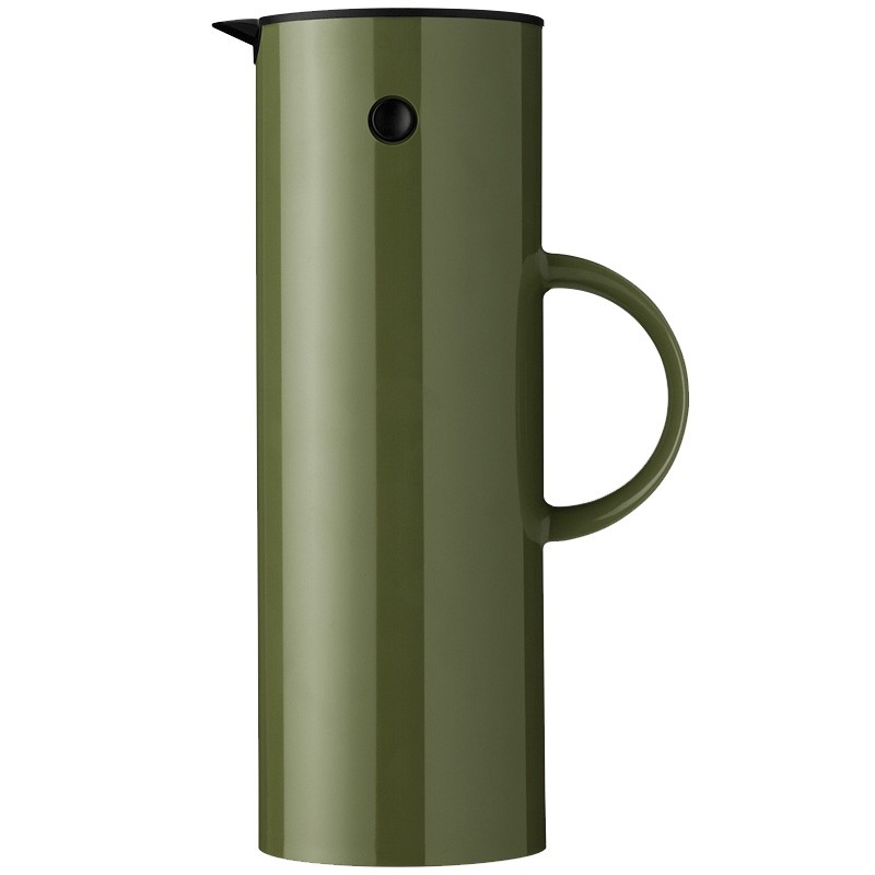 stelton isolierkanne 1 l olive 980 thermoskanne ebay. Black Bedroom Furniture Sets. Home Design Ideas