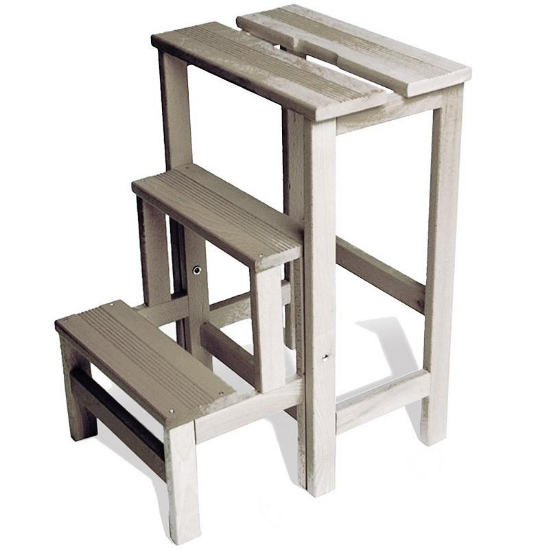 radius leiter buche wei lasiert trittleiter ausklappbar val15620 m bel trittleitern. Black Bedroom Furniture Sets. Home Design Ideas