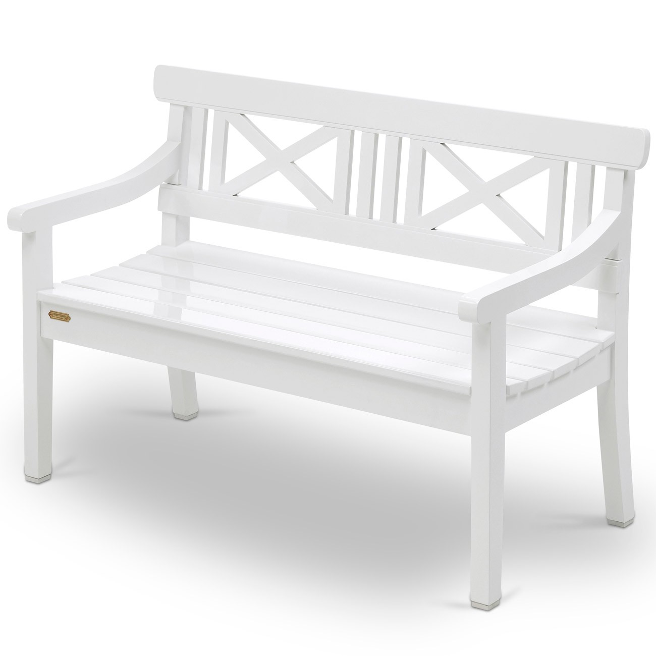 skagerak drachmann bank 120 cm weiss gartenbank s1100505 ebay. Black Bedroom Furniture Sets. Home Design Ideas