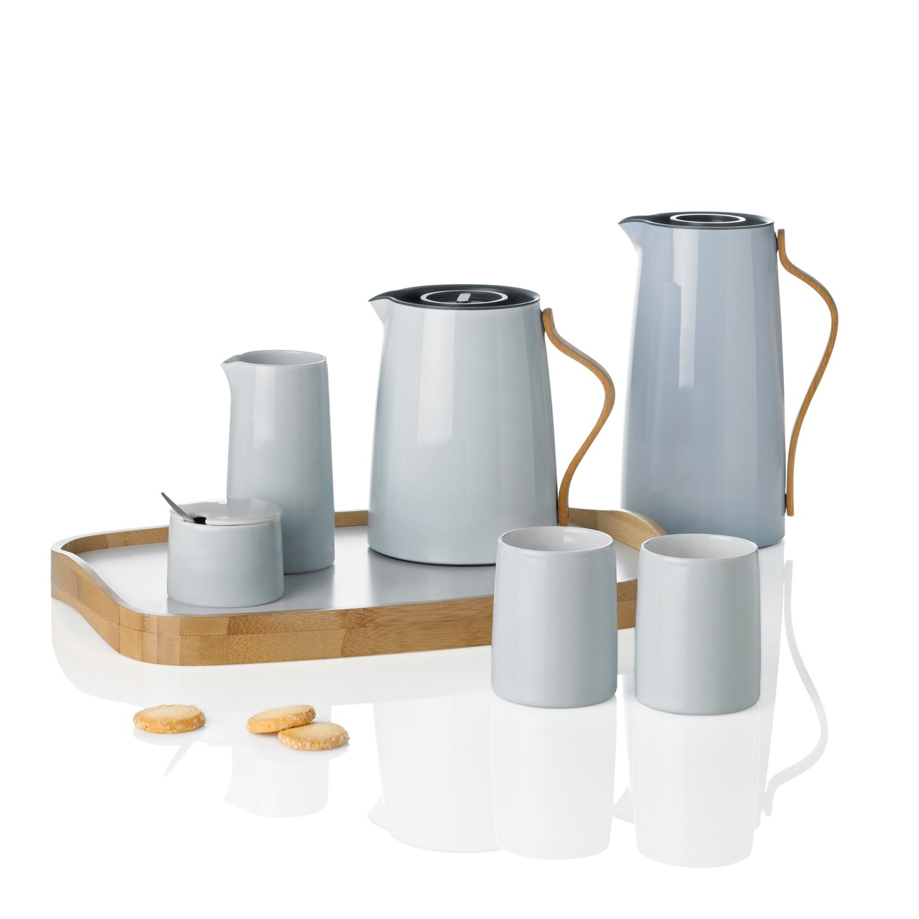 stelton emma isolierkanne kaffee 1 2 l blau kaffeekanne x 200 speisen servieren kannen. Black Bedroom Furniture Sets. Home Design Ideas