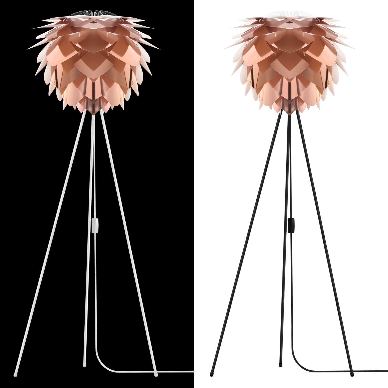 vita silvia lampenschirm weiss kupfer d 45 cm lampe m bel lampen leuchten tischleuchten. Black Bedroom Furniture Sets. Home Design Ideas