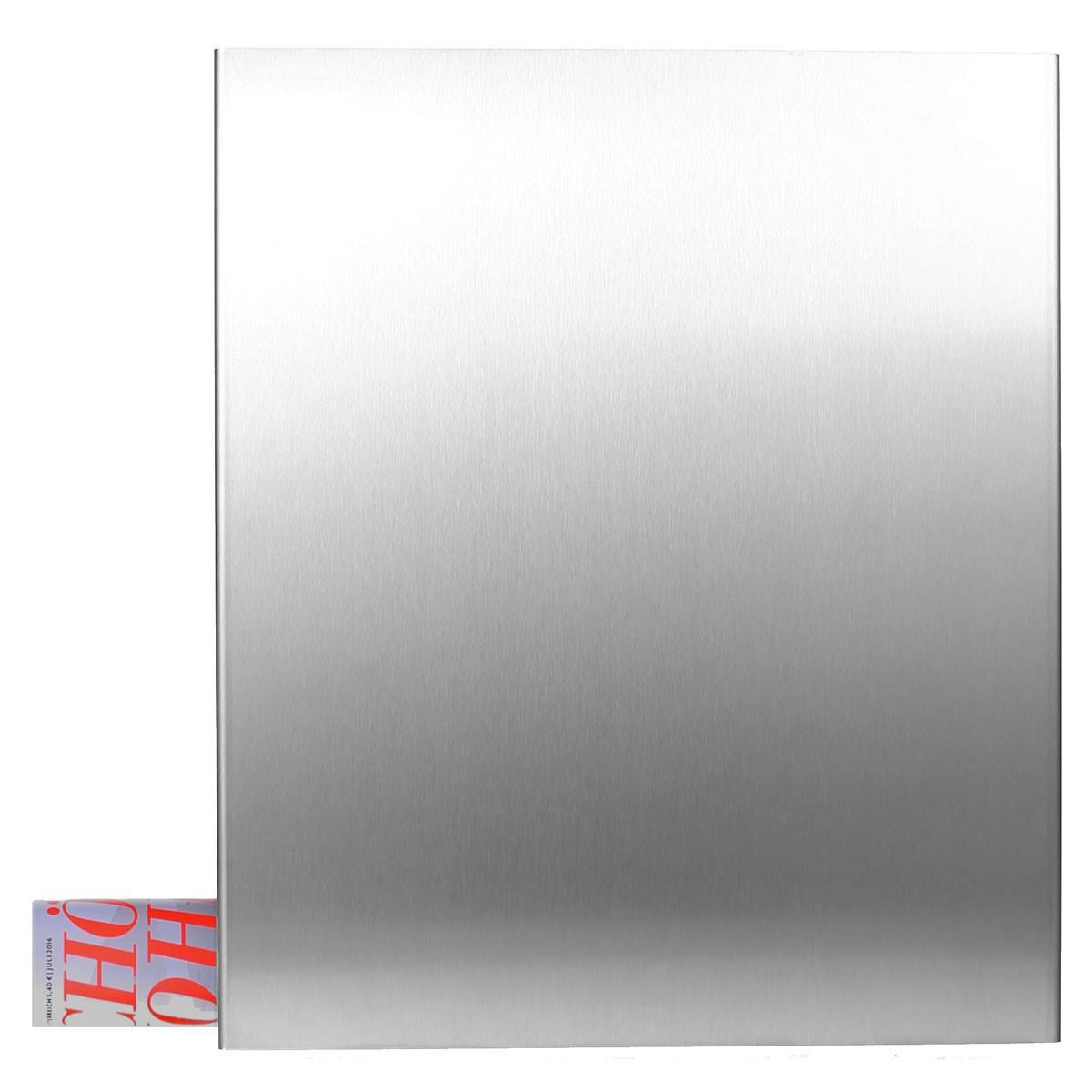 edelstahl briefkasten mit zeitungsfach korpus anthrazitgrau ral 7016 mocavi box 111va eingang. Black Bedroom Furniture Sets. Home Design Ideas