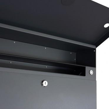 briefk sten mit klingel klingelanlage beleuchtet. Black Bedroom Furniture Sets. Home Design Ideas