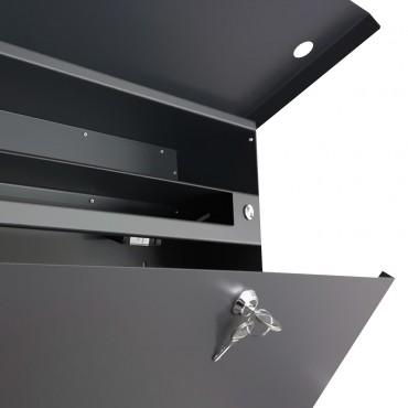 design briefkasten letterman xxl g nstig bestellen. Black Bedroom Furniture Sets. Home Design Ideas
