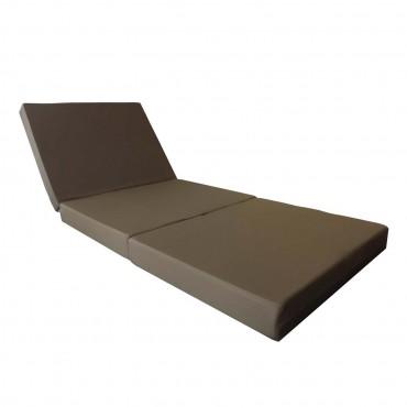 jan kurtz klappbare g stematratze braun sonnenliege. Black Bedroom Furniture Sets. Home Design Ideas