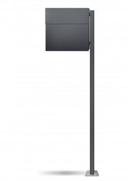 radius briefkasten letterman xxl anthrazitgrau ral 7016. Black Bedroom Furniture Sets. Home Design Ideas