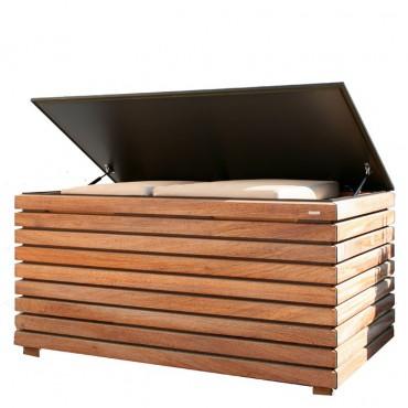 conmoto kissentruhen gartentruhen kiste box auflagen. Black Bedroom Furniture Sets. Home Design Ideas