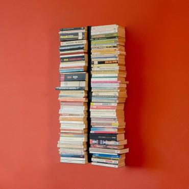 booksbaum wandregal b cherregal h ngend. Black Bedroom Furniture Sets. Home Design Ideas
