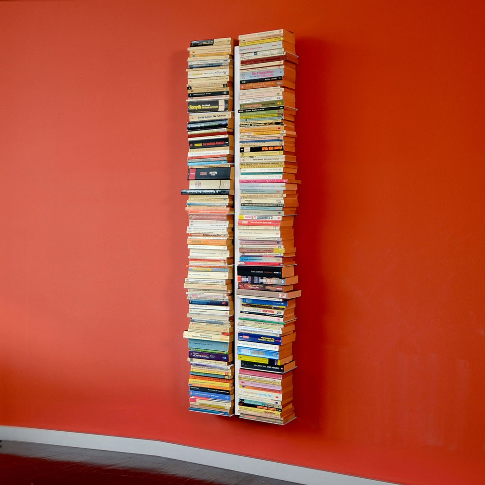 radius booksbaum weiss wandregal gross 1 721 b m bel. Black Bedroom Furniture Sets. Home Design Ideas