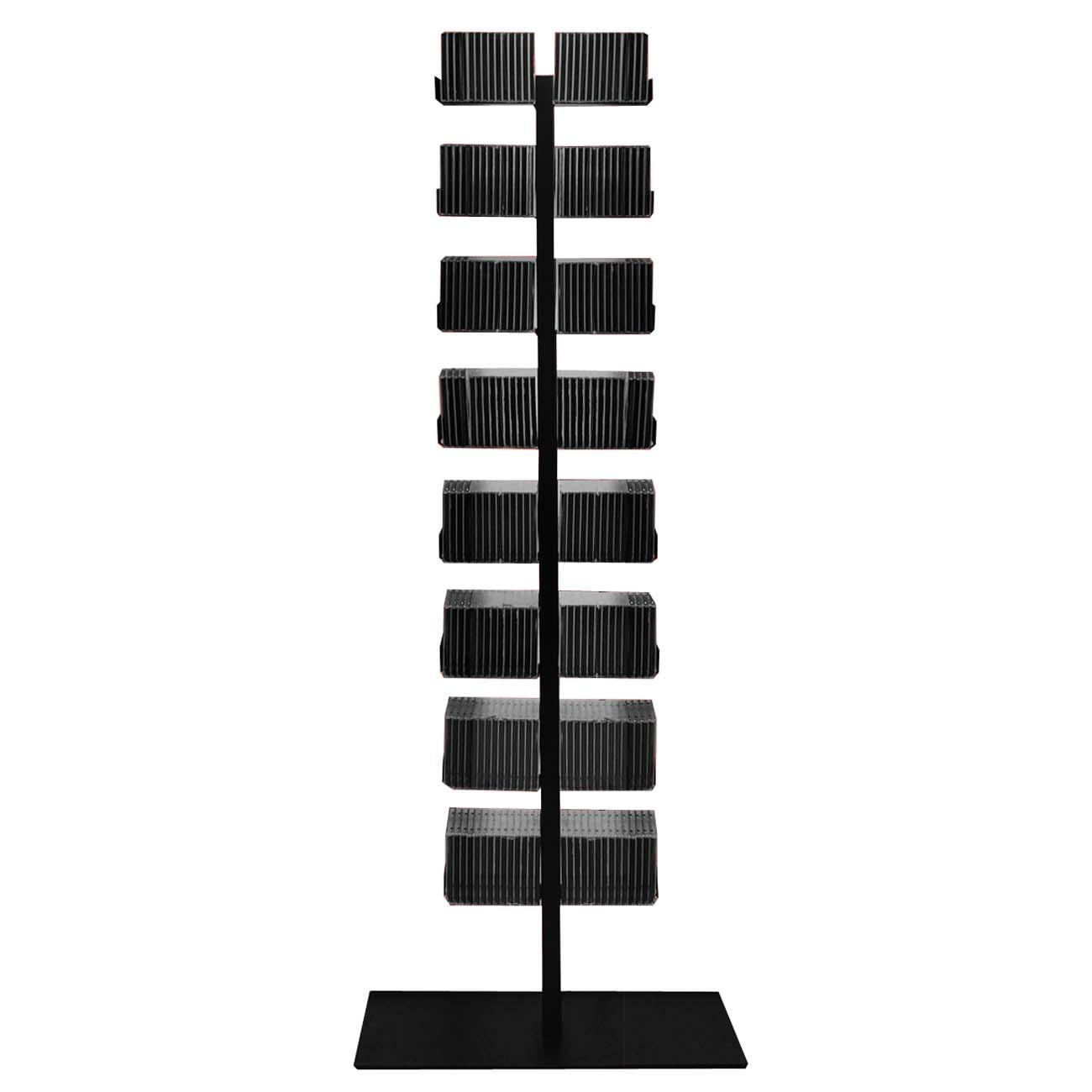 radius cd baum regal schwarz stand 1 gro 719 a m bel regale standregale. Black Bedroom Furniture Sets. Home Design Ideas