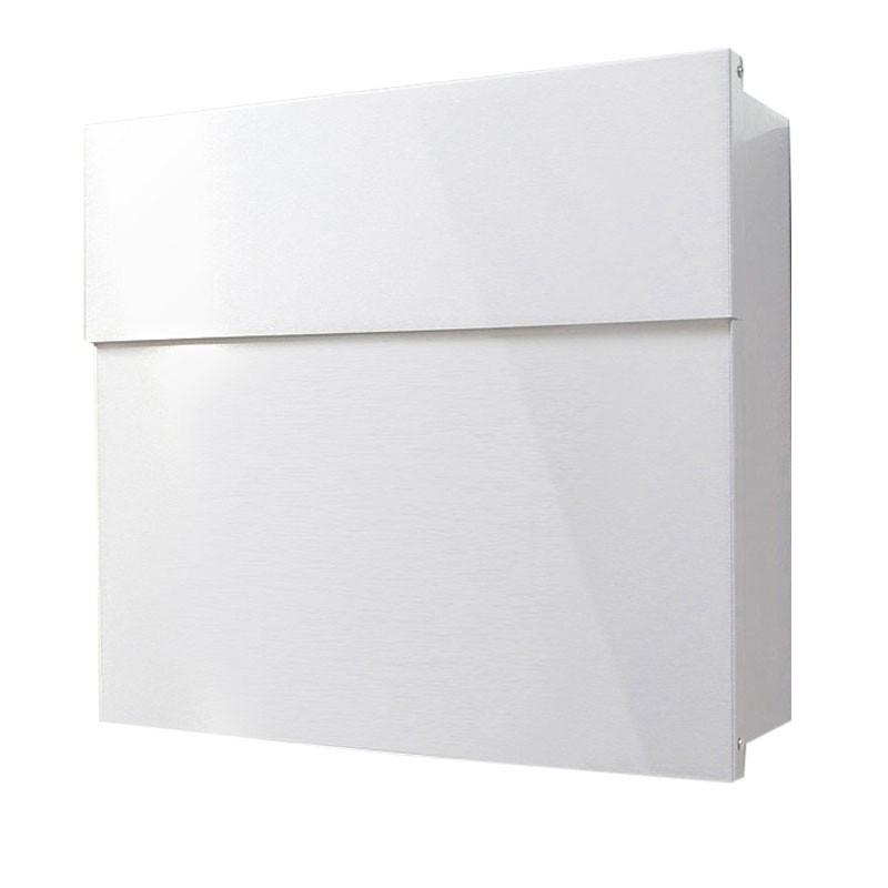 radius standbriefkasten letterman 4 weiss mit pfosten. Black Bedroom Furniture Sets. Home Design Ideas