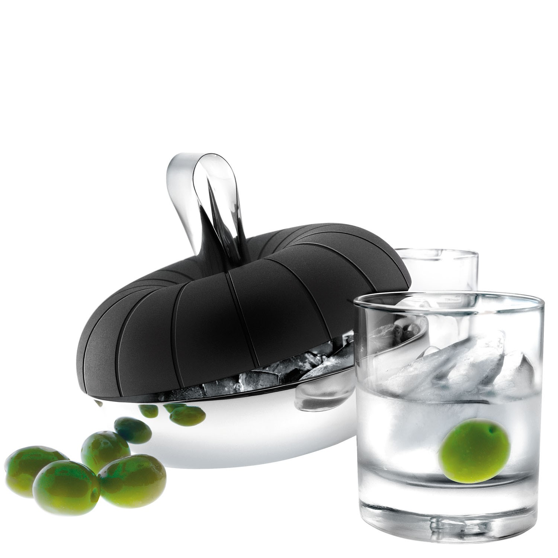 eva solo eisw rfelzubereiter und eisw rfelk hler mit eiszange speisen servieren wein bar. Black Bedroom Furniture Sets. Home Design Ideas