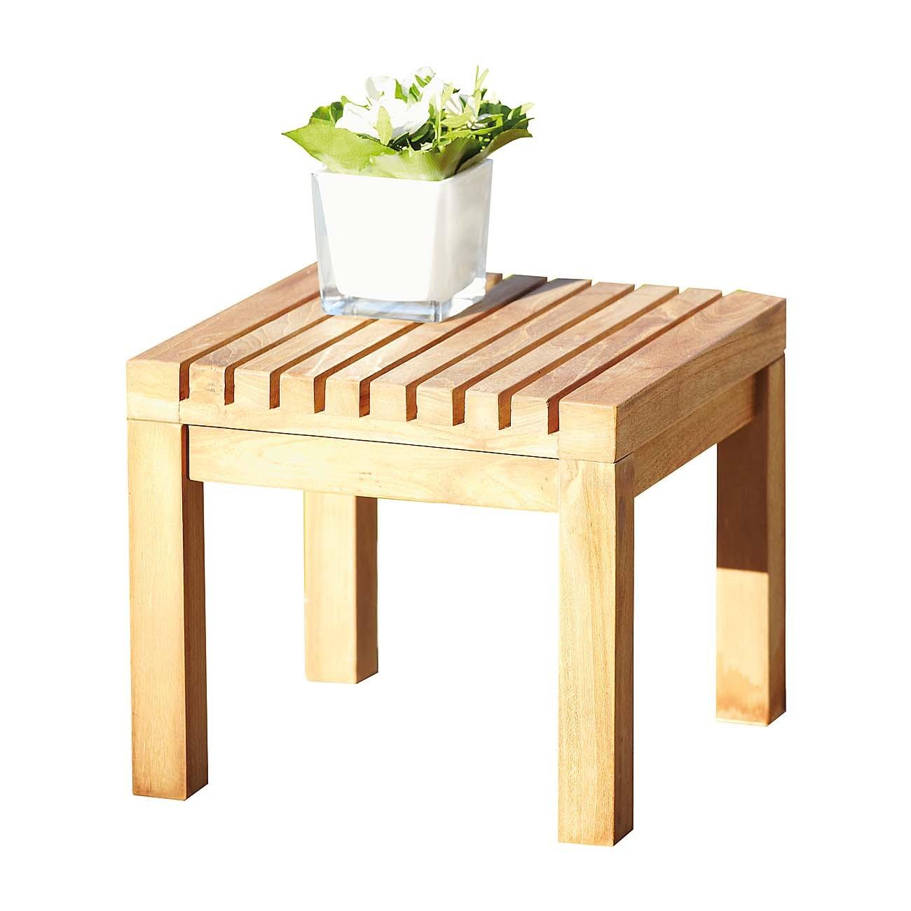 jan kurtz nice hocker beistelltisch eckig teak 492875 eingang garten gartenm bel gartenhocker. Black Bedroom Furniture Sets. Home Design Ideas