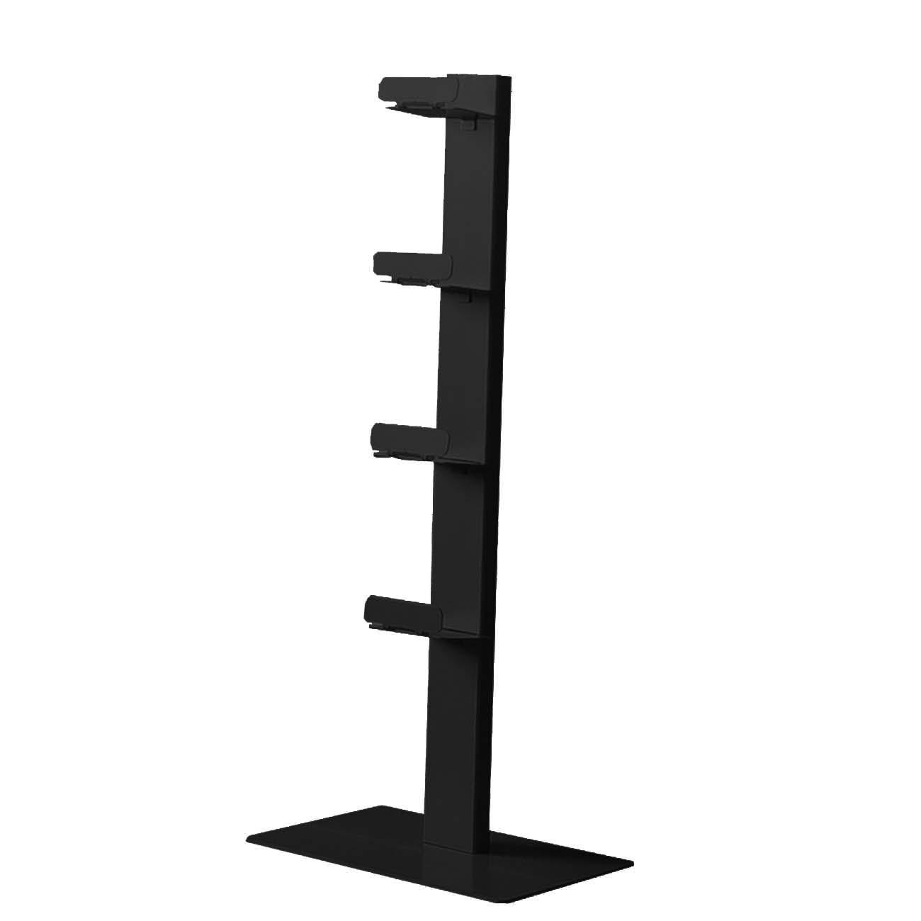 radius cd baum regal schwarz stand 2 klein 737 a m bel regale standregale. Black Bedroom Furniture Sets. Home Design Ideas