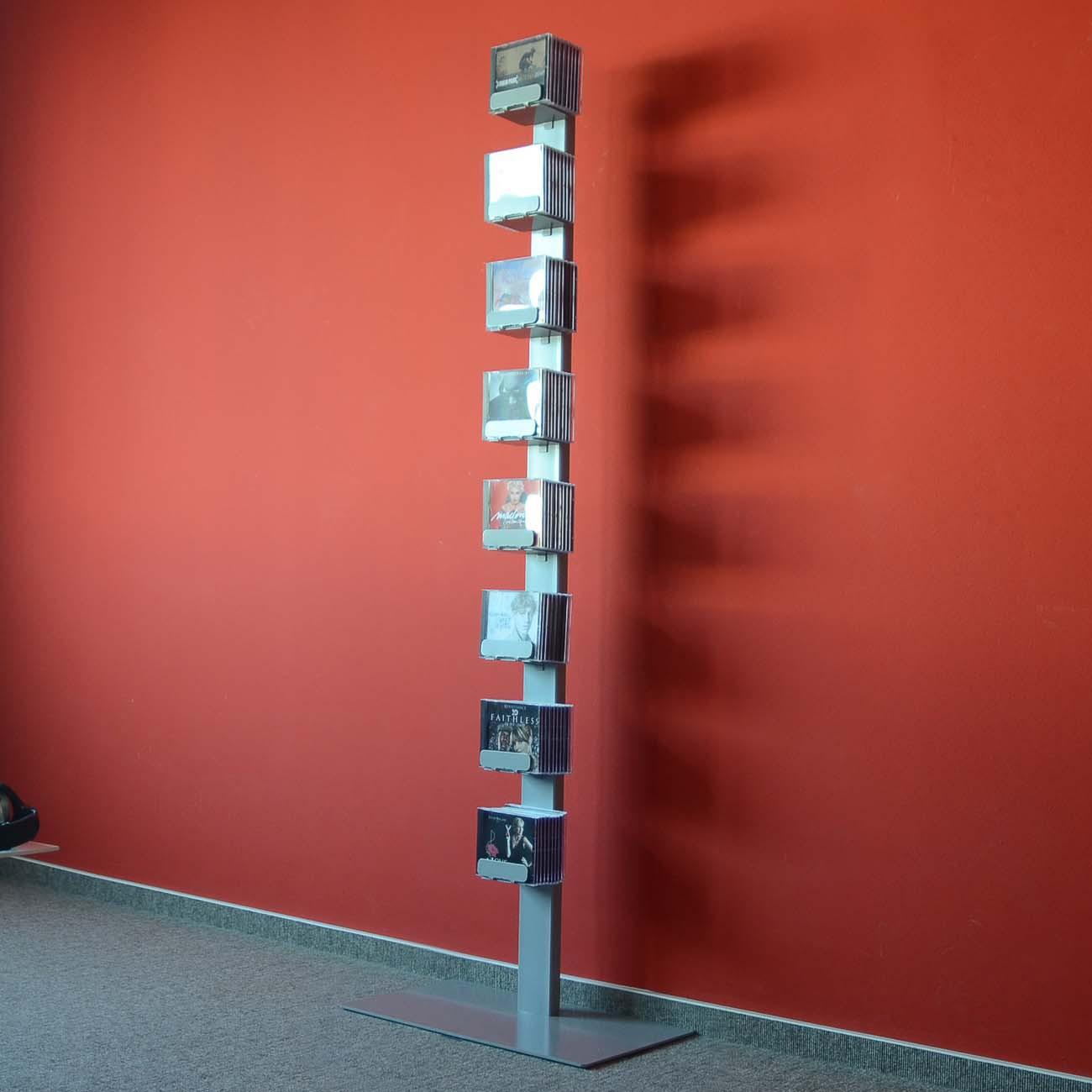 radius cd baum regal silber stand 2 gro 736 c m bel regale standregale. Black Bedroom Furniture Sets. Home Design Ideas