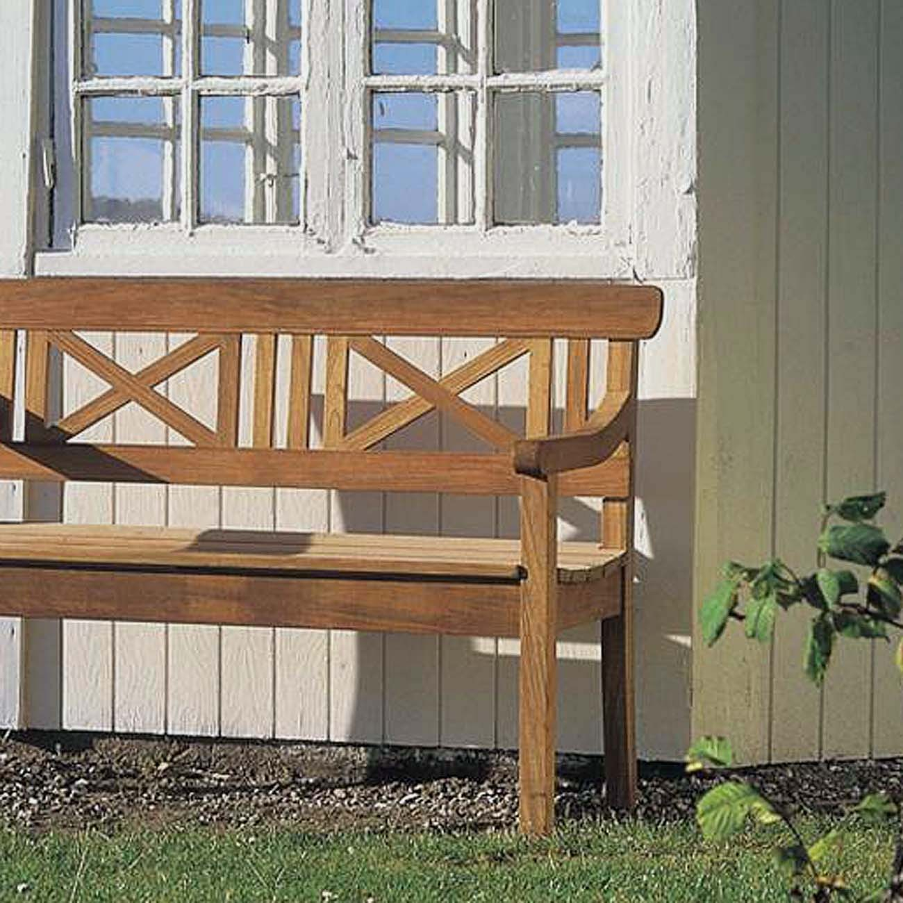skagerak drachmann bank 120 cm teak gartenbank s1040505 eingang garten gartenm bel gartenb nke. Black Bedroom Furniture Sets. Home Design Ideas