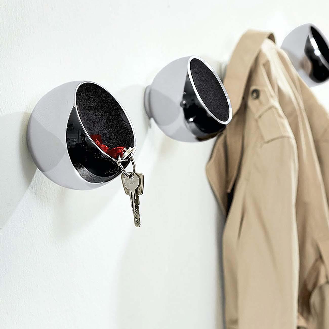 philippi garderobenkugel sphere garderobenhaken 123150 m bel garderoben. Black Bedroom Furniture Sets. Home Design Ideas