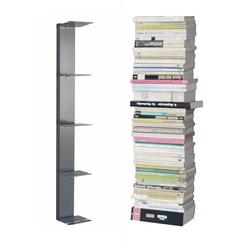 radius booksbaum wandregal silber 2 klein 724 c m bel. Black Bedroom Furniture Sets. Home Design Ideas