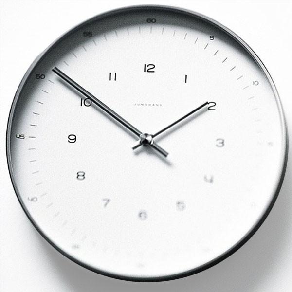klein und more max bill wanduhr 30 cm zahlen technik uhren wecker armbanduhren. Black Bedroom Furniture Sets. Home Design Ideas