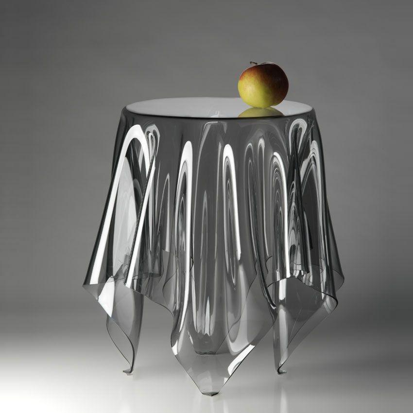 klein und more beistelltisch illusion transparent m bel tische beistelltische. Black Bedroom Furniture Sets. Home Design Ideas