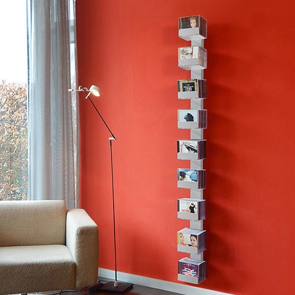 radius cd baum regal silber wand 2 gro 727 c m bel regale wandregale. Black Bedroom Furniture Sets. Home Design Ideas