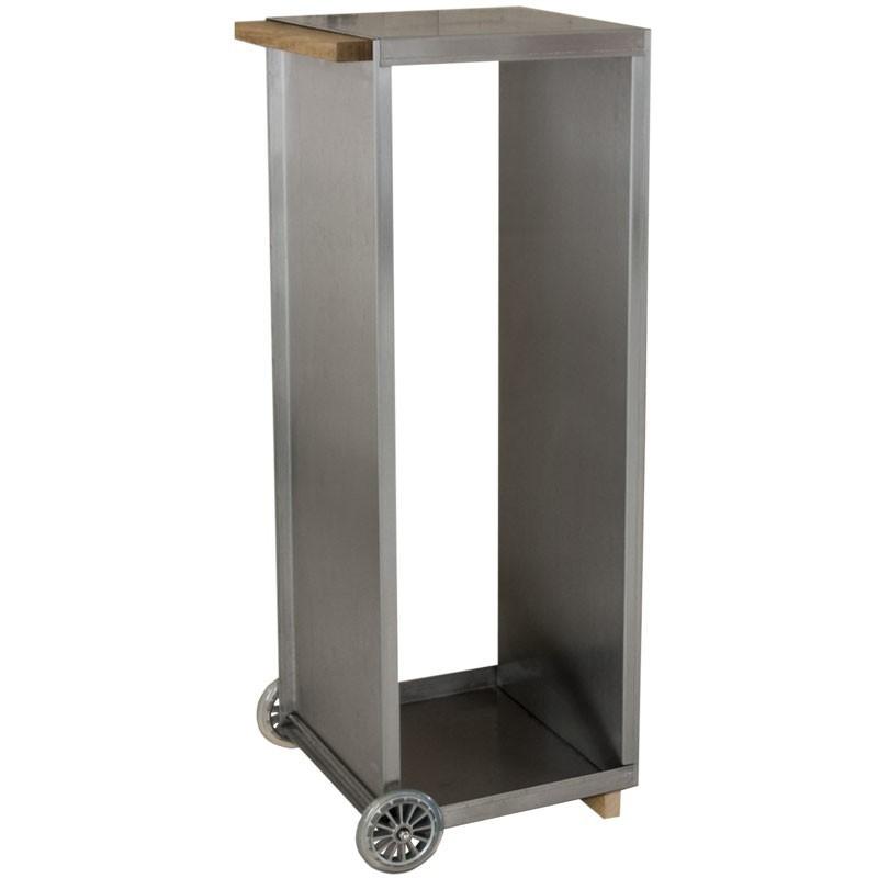 radius kaminholzwagen edelstahl 470 a feuer grill kamin zubeh r holzlegen holzk rbe. Black Bedroom Furniture Sets. Home Design Ideas