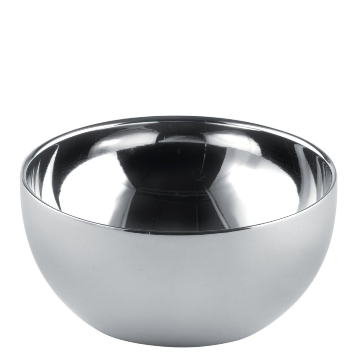 alessi sch lchen double aus gl nzendem edelstahl dul02 12 2 st ck speisen servieren geschirr. Black Bedroom Furniture Sets. Home Design Ideas