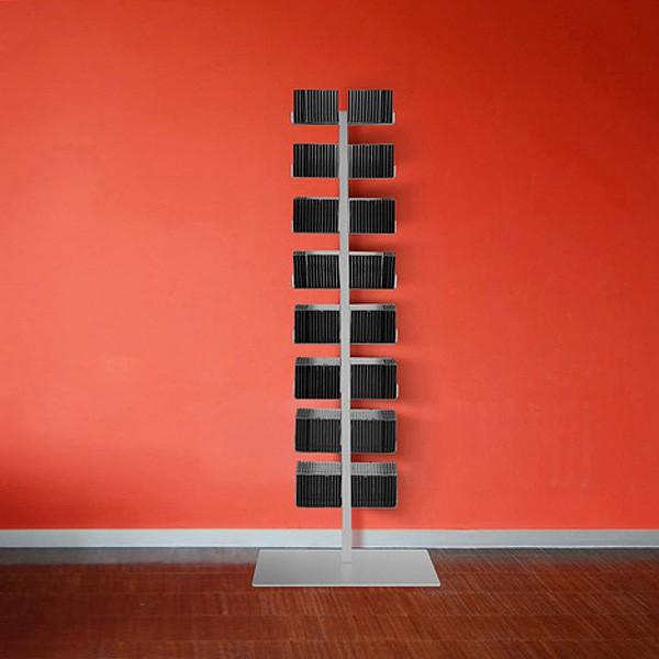 radius cd baum regal silber stand 1 gro 719 c m bel regale standregale. Black Bedroom Furniture Sets. Home Design Ideas