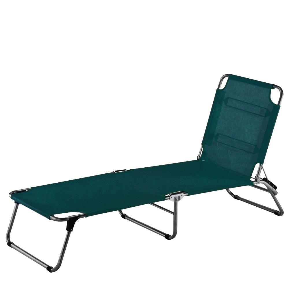 jan kurtz dreibein liege fiam amigo fourty dunkelgr n 42cm hoch sonnenliege eingang garten. Black Bedroom Furniture Sets. Home Design Ideas